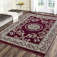 Braids Polycotton Premium Modern Carpet/Area Rug -(4.5 ft x 6 ft,Multicolor)