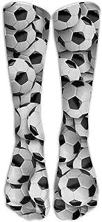 N / A, Balones de fútbol Equipo de fútbol Calcetín Calcetines locos Tubo Calcetines altos Novedad Divertido Luz fina para adolescentes Niños Niñas 50 cm / 19.7 pulgadas
