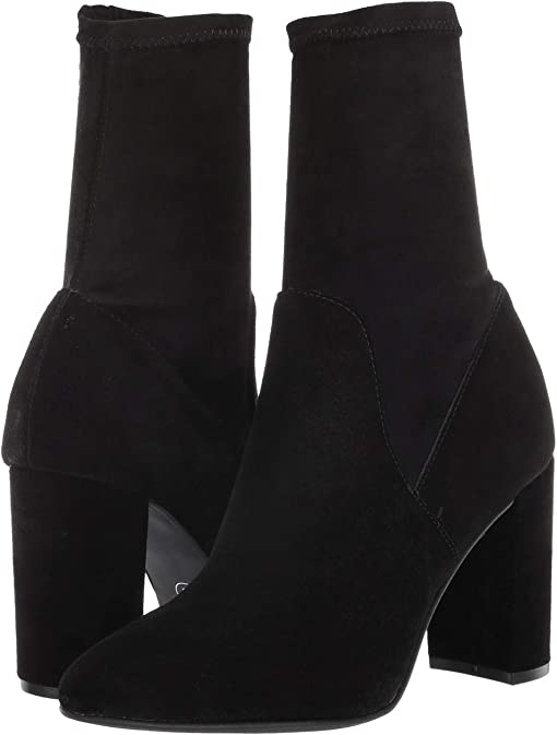 Black Split Suede