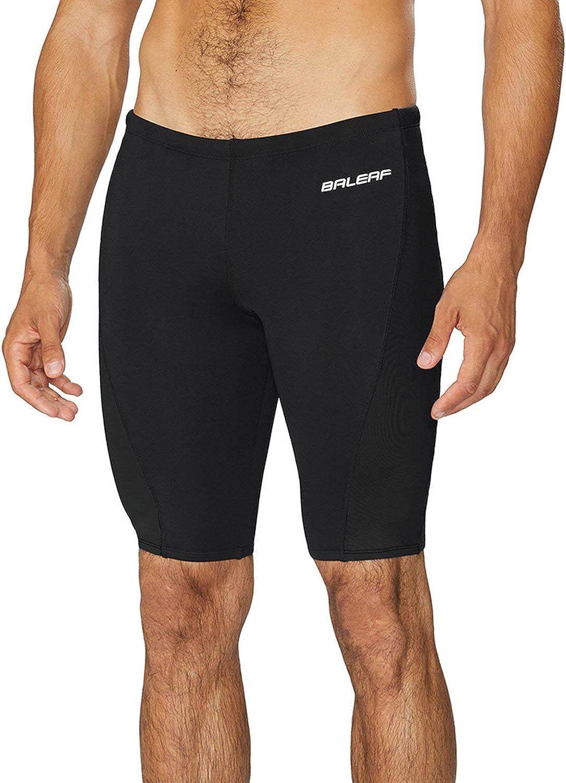 Manufacturer OFFicial shop BALEAF Men's Swim Quantity limited Jammers Athletic Tea Training Durable Swimsuit