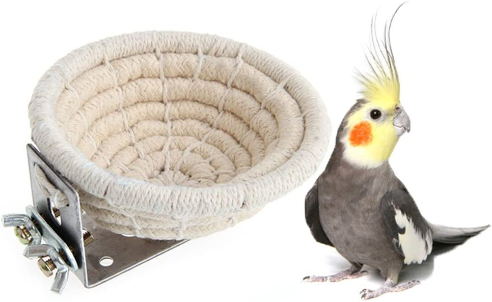 HAPPINESS APPLY HERE Rope Bird Breeding Budgie Para Nest Super intense Our shop most popular SALE Bed for