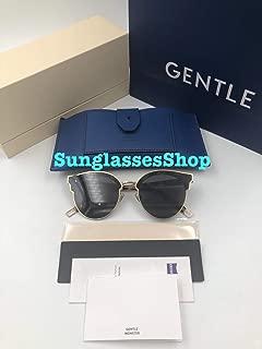 Gentle Monster Sunglasses Sign of Two Black Frame Black Lenses With Origianl Package Sets