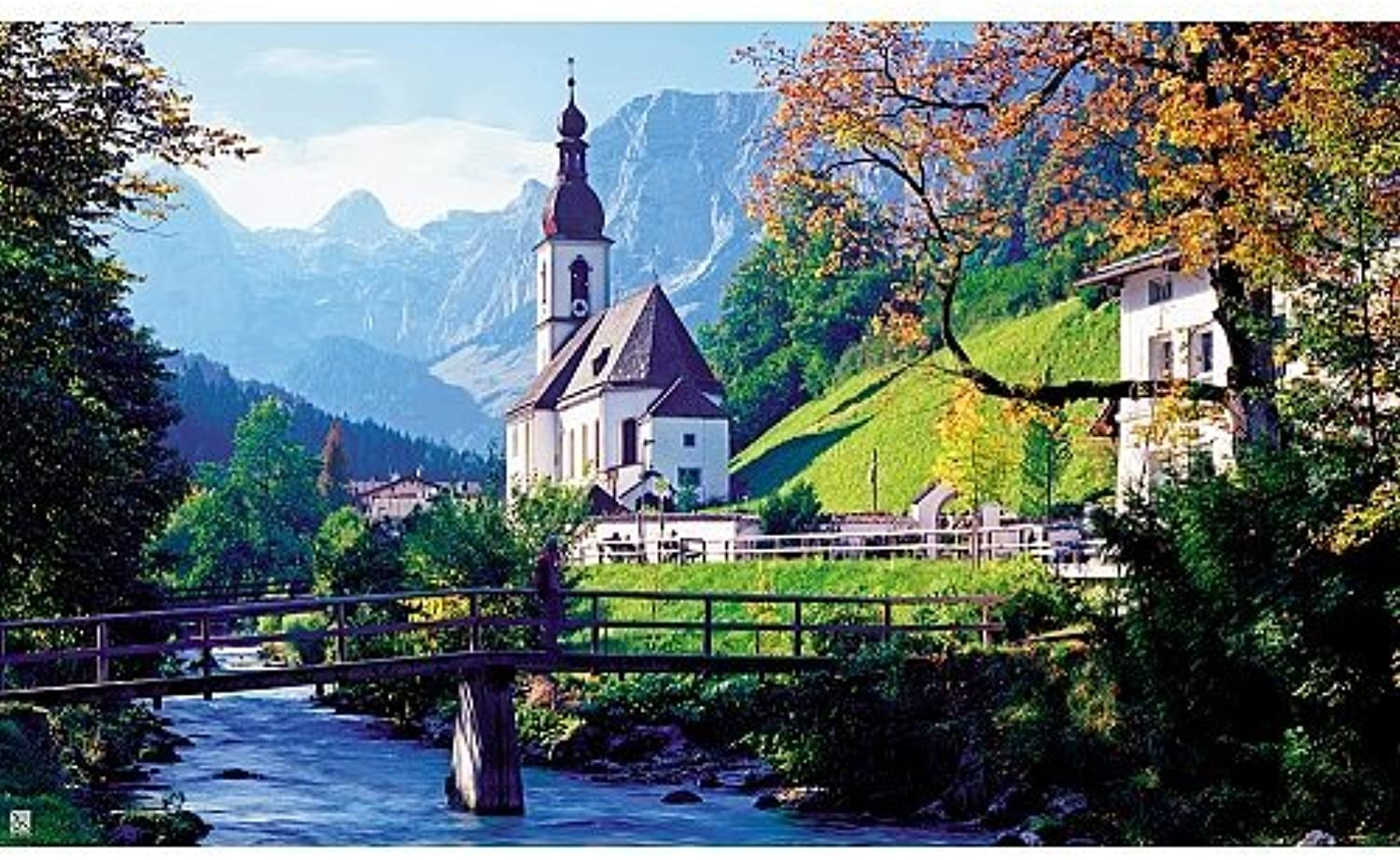 diseños exclusivos Regal 1500pc Ramsau Ramsau Ramsau Church, Bavaria Puzzle  descuento online