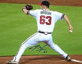 Jake Brigham Atlanta Braves Signed Autographed 8x10 Photo W/coa - Autographed MLB Photos