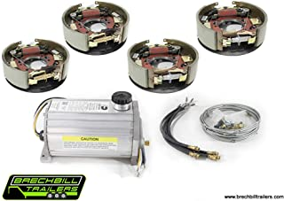 Electric/Hydraulic Drum Brake Conversion Kit for Dexter 10K General Duty Axles 12-1/4