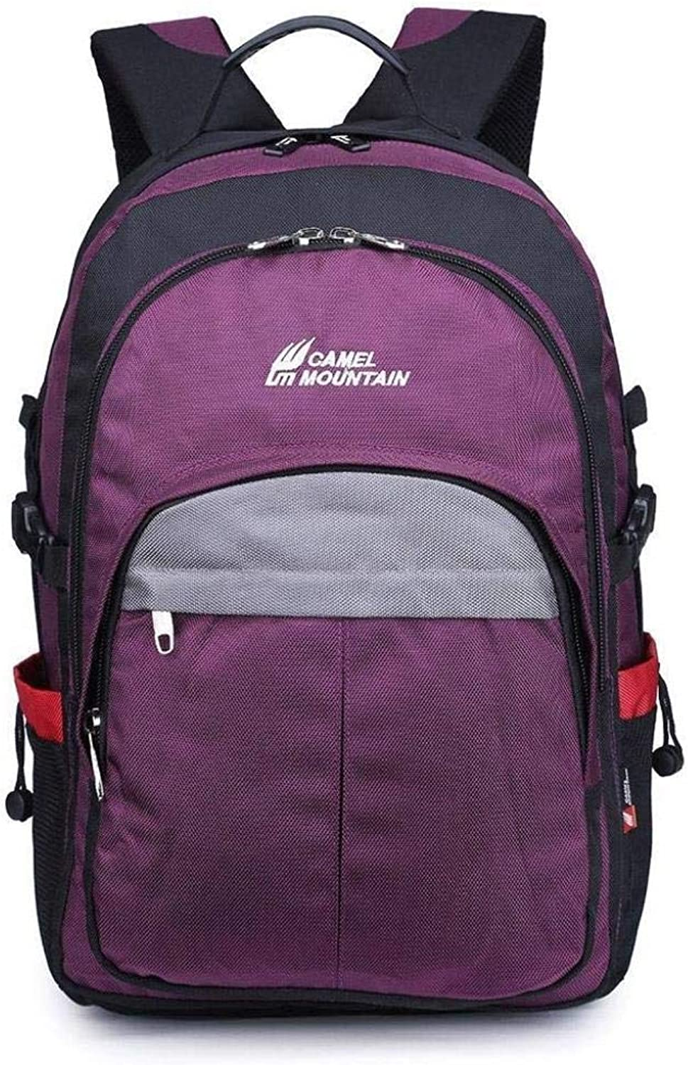 Multi-Function Backpack Large Capacity Travel Shoulder Bag ZXMSZ (color   A)