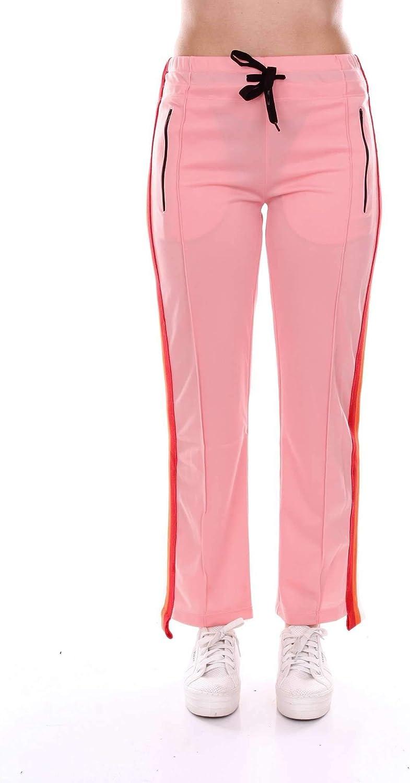 Akep Women's KE725PINK Pink Cotton Pants