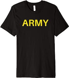 Army APFU Logo PT - Workout Physical Training Uniform Premium T-Shirt