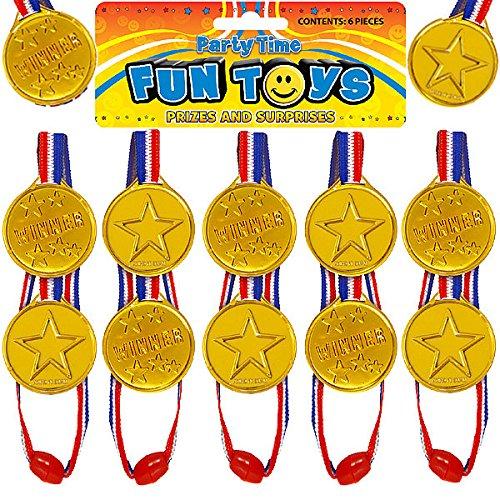 German Trendseller® - 24 x Gold Medaillen ┃ Sieger Medallien ┃ Super Medallien ┃ Podium ┃ Kinder lieben Diese Gold Medallien