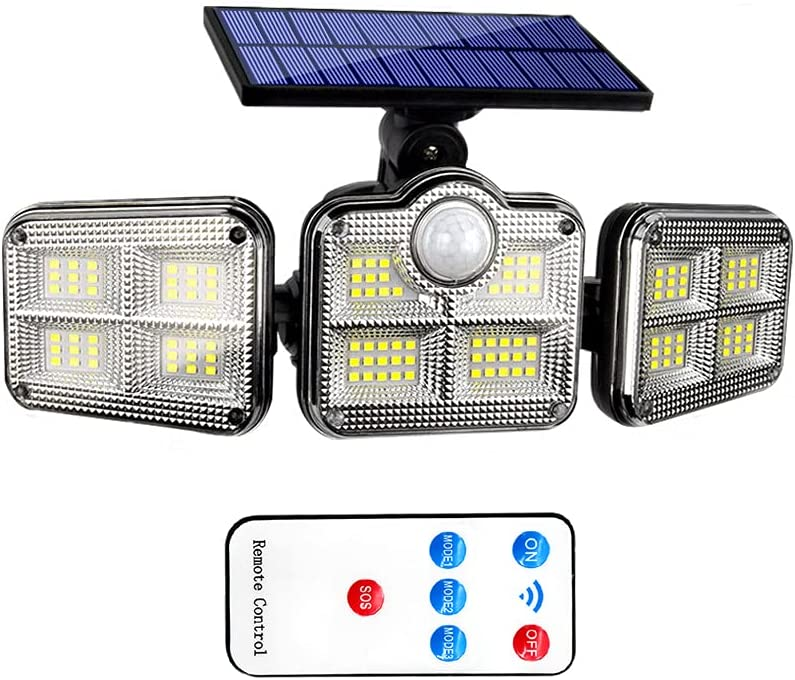 Solar Motion Lights Beauty products Sale SALE% OFF Outdoor 3 Flood Heads with Moti