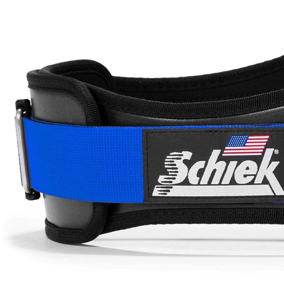 Schiek 3006 Contour Power Weight Lifting Belt Blue