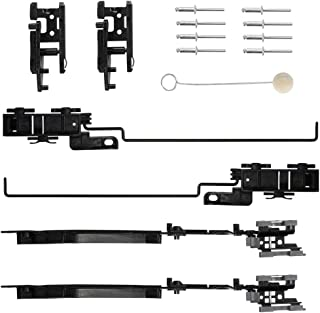 MNJWS Sunroof Track Assembly Repair Kit Fit for 2002 2003 2004 2005 2006 2007 2008 Jeep Liberty