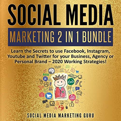 Social Media Marketing 2 in 1 Bundle audiobook cover art