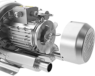 LNLEE Fish Pond Ring Blower for Aquirum, Regenerative Air Pump, Vortex Gas Pump, Side Channel Blower, Sewage Aeration (LN180S-220V3P)