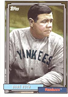 2017 Topps Archives #225 Babe Ruth Baseball Card
