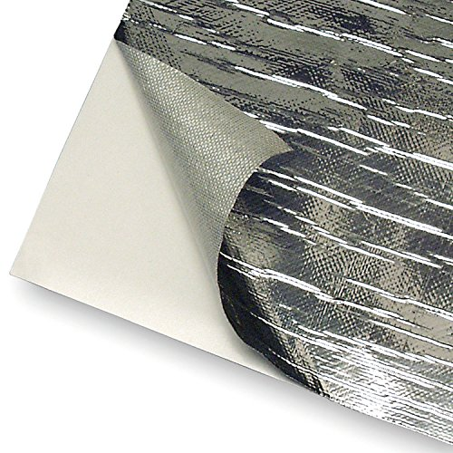 Design Engineering 010461 Reflect-A-Cool Heat Reflective Adhesive Backed Sheets, 12