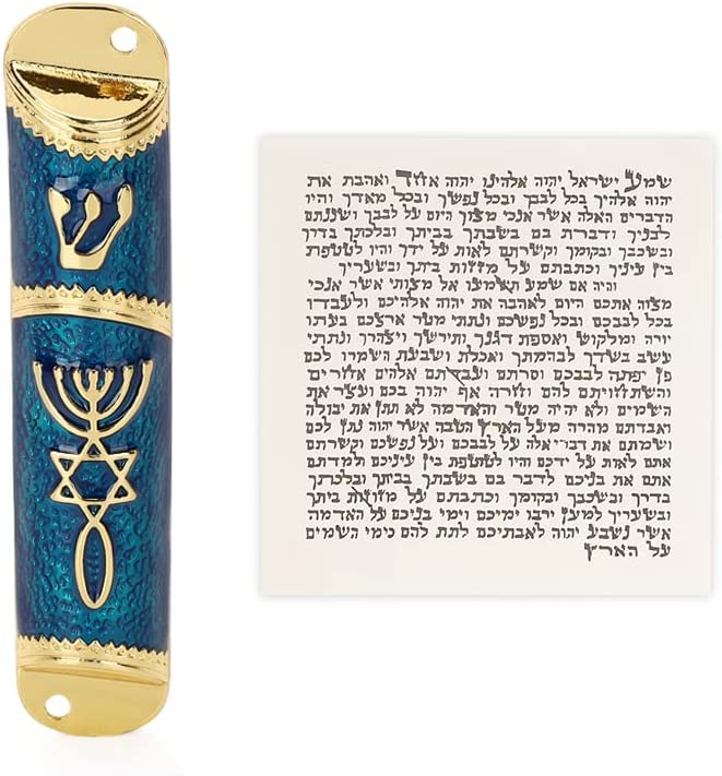 BRTAGG Messianic Mezuzah Messiah Crismas Holy Land Jewish Israel Gifts Decorations Decor