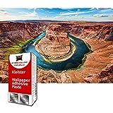 GREAT ART Fototapete Horseshoe Bend Grand Canyon 210 x 140