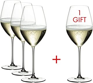 Riedel Veritas Champagne Wine Glass Pay 3 Get 4 Drinkware