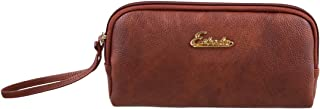 ESBEDA Tan Color Solid Pu Synthetic Material Pouch For Womens