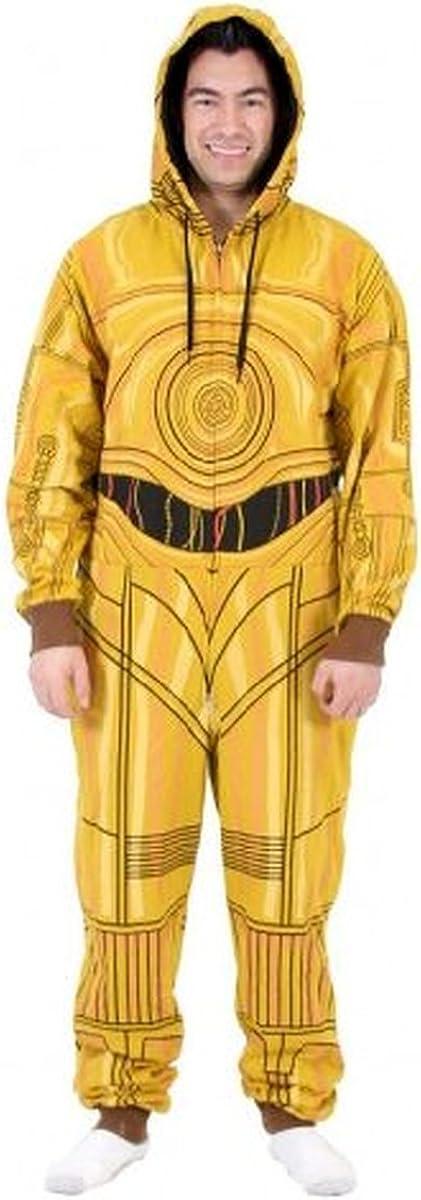 STAR WARS Men's C3Po Suit Jumpsuits, Gold, X-Large at ...