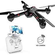 DROCON Drone for Beginners X708W Wi-Fi FPV Training Quadcopter with HD Camera Equipped with...