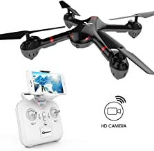 DROCON Drone for Beginners X708W Wi-Fi FPV Training Quadcopter with HD Camera Equipped with Headless Mode One Key Return Easy Operation