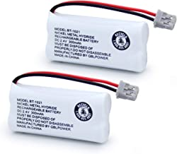 QBLPOWER BT1021 BBTG0798001 Battery Compatible with Uniden DECT 6.0 BT1008 BT-1021 BT1016 Cordless Phone Rechargeable 2.4V NIMH (2 Pack)