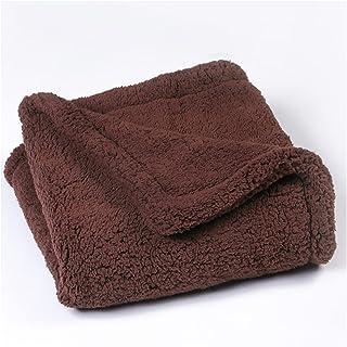 Cat Bed Self Heating Pet Pads Pet Dog Blanket/Self Heated Cat Dog Bed/Pet Thermal Mat Blanket coffee-120x80