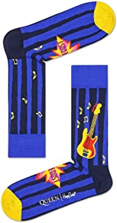 Happy Socks Mens and Ladies Queen 'Another One Bites The Dust' Combed Cotton Socks Pack of 1