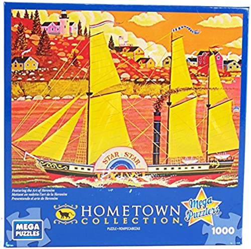 Sin impuestos Hometown Collection Ocean Star 1000 Piece Jigsaw Puzzle By By By Heronim by Mega Puzzles  almacén al por mayor