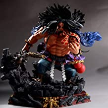 Opopark New Anime Pirate King Figure PVC Four Emperors Kaido of The Hundred Beasts 19cm