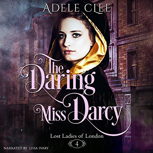 The Daring Miss Darcy audiobook cover art
