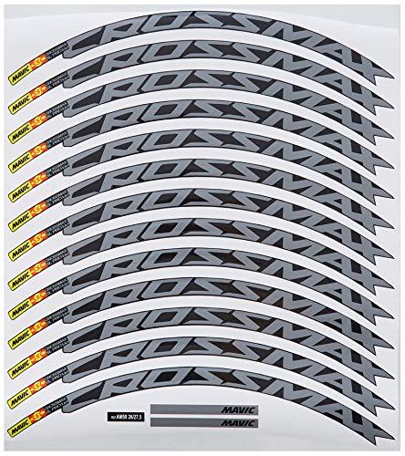 Ecoshirt IJ-IZ3B-JWMF Autocollants pour Jante de VTT Rim Mavic Crossmax SL Pro 26\