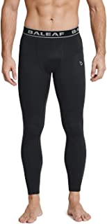Men's Thermal Compression Baselayer Tights Fleece Lined Pants