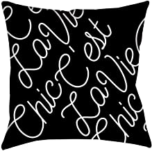 Bravo TV Chic C'est La Vie Pillow - 16 X 16