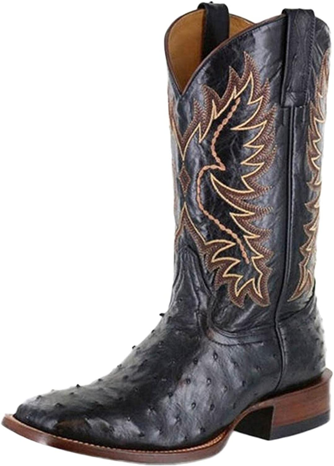 Max 86% OFF Masbird Boots for Super-cheap Womens Cowboy Boot Poin Embroidery Zip Western