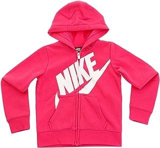 543b27320a Nike Kids Baby Girl's Futura Full Zip Hoodie (Toddler)