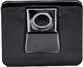Cámara de Aparcamiento de visión Trasera HD 720p para monitores universales (RCA) (Color: Negro) para Kia K5/Kia Optima 2010-2013 con Orificio Original para cámara