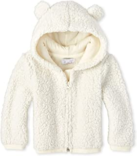The Children's Place Baby Girls Sherpa Zip Up