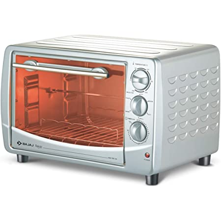 Bajaj 2800 TMCSS 28L Oven Toaster Grill, White.