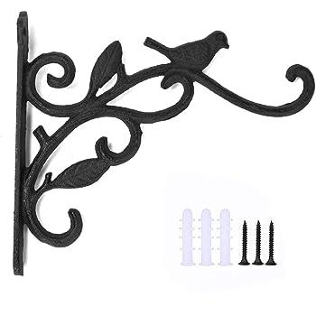 """Multi Buy Discount Deals 15/"""" Strong Black Hanging Basket Bracket"""