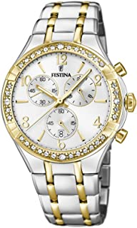Festina F20396/1 Stainless Steel Analog Casual Watch for Women