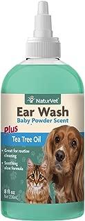 NaturVet Ear Wash Tea Tree Oil Pets