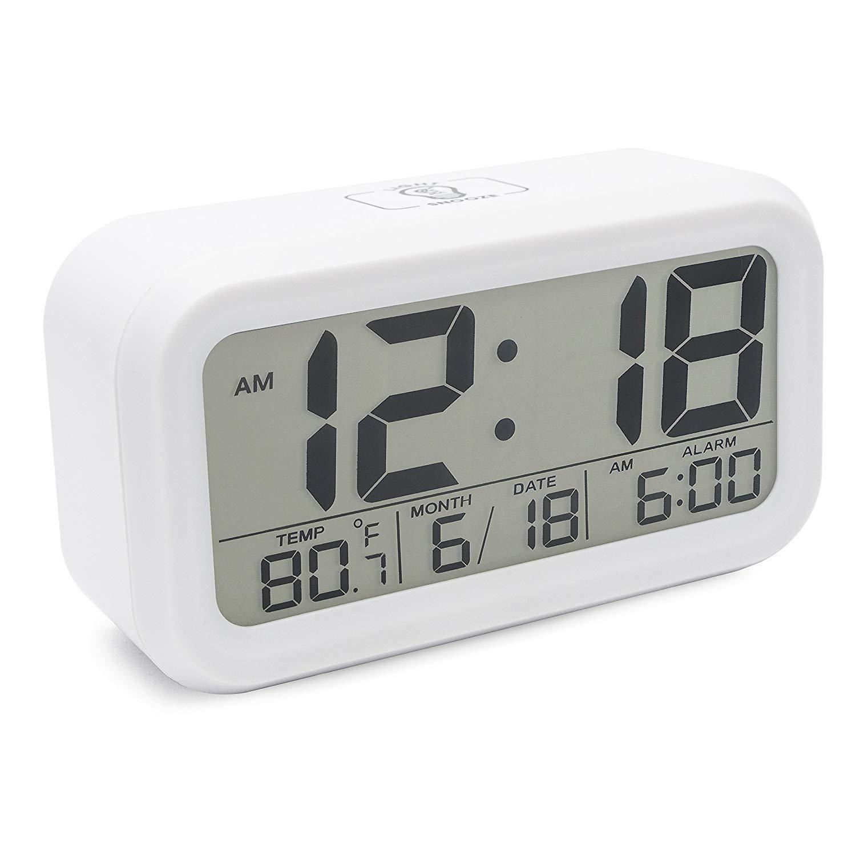 Sveglia Proiezione Orologio di Rotante Proiezione Sveglia Digitale Controllo del Suono Retroilluminazione Tempo di Auto Impostato Timer di Spegnimento Temperatura Interna