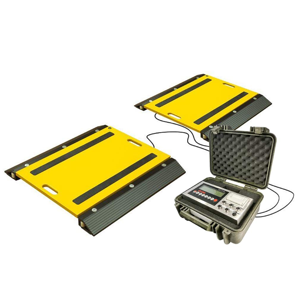 Ranking TOP17 PEC Portable Spring new work Axle Weigh Pads Scale Scales Vehicles Aircra Truck