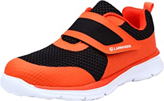 LARNMERN Mens Steel Toe Work Shoes,LM-23 Safety Shoes Lightweight Breathable Casual Protection Footwear