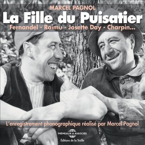 La Fille du Puisatier audiobook cover art