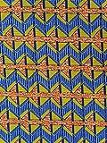 Baumwollstoff African Fashion Designs und Farben - 6 Yards