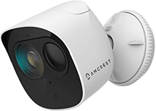 Amcrest SmartHome 1080p WiFi Outdoor Security Camera with Spotlight, Built-in Siren Alarm, Strobe Light, Two-Way Audio, Ni...